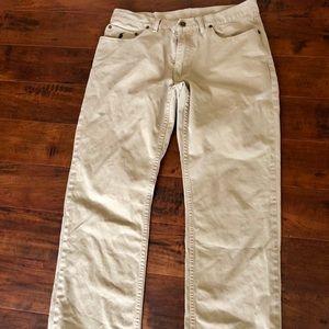 Men's Ralph Lauren Polo Khaki Pants